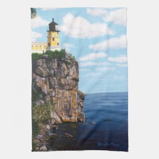 Split Rock Lighthouse Tea Towel