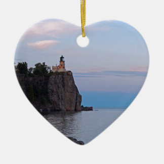 Split Rock Sunset.jpg Christmas Ornament