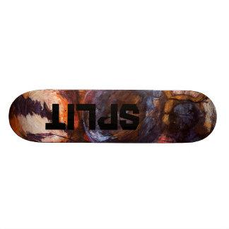 Split 21.3 Cm Mini Skateboard Deck