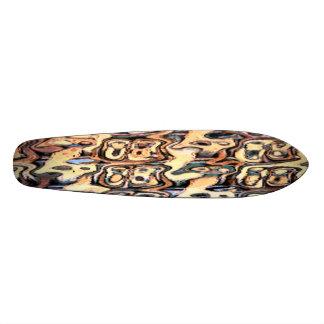 Split Wood Skateboard