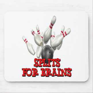 Splits For Brains Bowling Mouse Pad