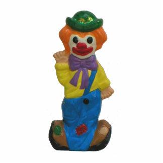 Splits the Clown Happy Standing Photo Sculpture