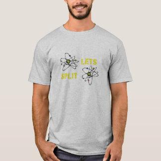 Splitting Atoms T-Shirt