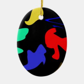 Splodge Christmas Ornament