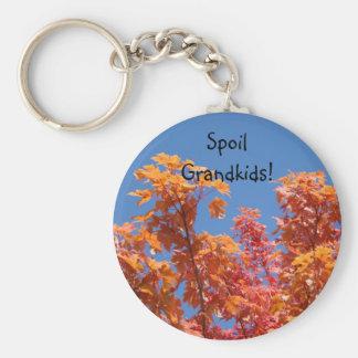 Spoil Grandkids! keychain Grandma key chain Autumn