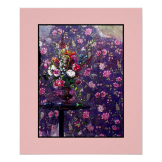 Spoiled Flowers ~ 20x24 Poster / Matted Design