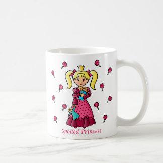 Spoiled Princess Basic White Mug