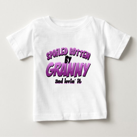 Spoiled Rotten by Granny Baby T-Shirt