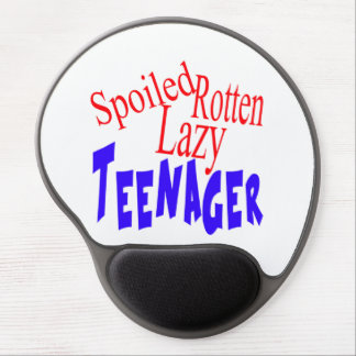 Spoiled Rotten Lazy Teenager Gel Mouse Pad