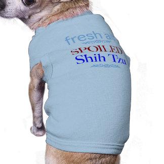 spoiled Shih Tzu Sleeveless Dog Shirt