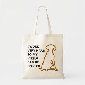 Spoiled Vizsla Tote Bag