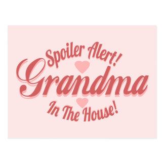 Spoiler Alert Grandma Postcard