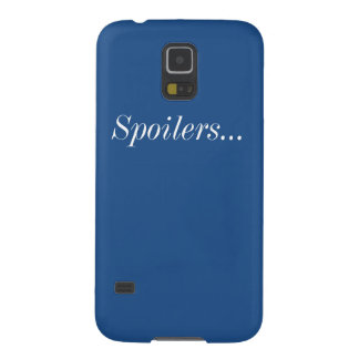 Spoilers Samsung Galaxy S5 Barely There Case