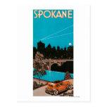 Spokane Advertising Poster #1Spokane, WA Postcard