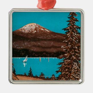 Spokane Advertising Poster #2Spokane, WA Christmas Ornament