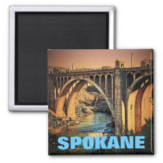 Spokane (Bridge) Magnet