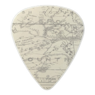 Spokane Country Acetal Guitar Pick