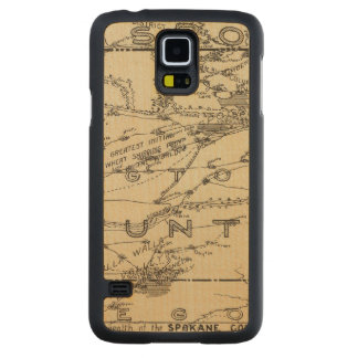 Spokane Country Carved Maple Galaxy S5 Case