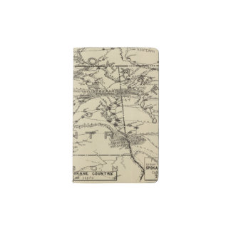 Spokane Country Pocket Moleskine Notebook