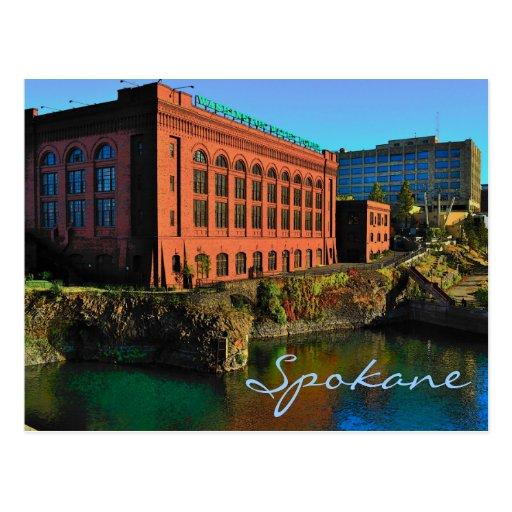 Spokane Postcard
