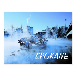 Spokane Winter Postcard - Customized