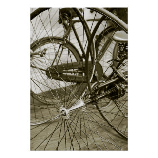 Spoked Poster