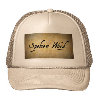Spoken Word Trucker Hat
