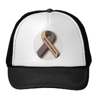Spondylolisthesis awareness t-shirt cap