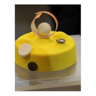 Sponge cake post card