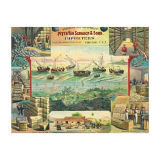 Sponge Importer Ad 1892 Canvas Print