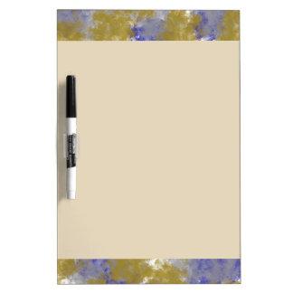 Sponge Paint Design Dry Erase Board