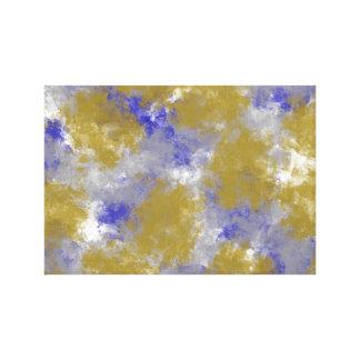 Sponge Print Canvas