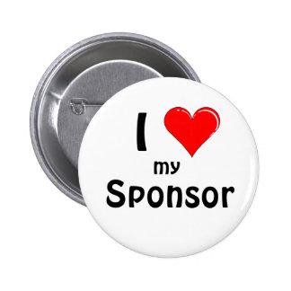 Sponsor 6 Cm Round Badge
