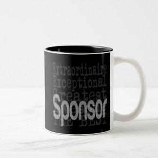 Sponsor Extraordinaire Two-Tone Mug