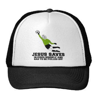 Spoof atheist Jesus saves Trucker Hat