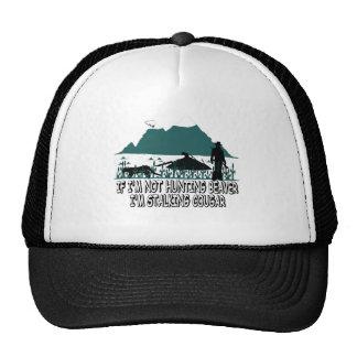 Spoof cougar hunter trucker hat