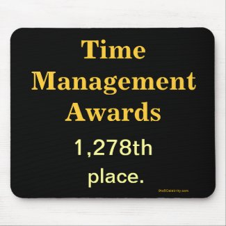 Spoof Office Awards - Funny Time Management Joke