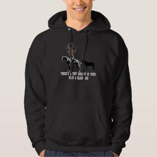 Spoof Sheriff Obama-anti Obama Hooded Sweatshirts