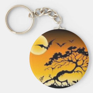 Spook scene keychains