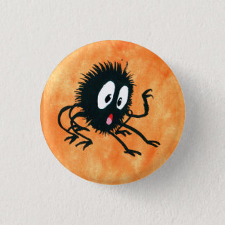 Spooked Spider! 3 Cm Round Badge