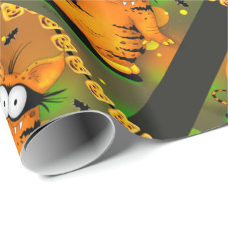 SPOOKEE PET MONSTER CARTOON Wrapping Paper