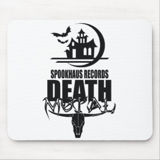 Spookhaus Records Death Metal Logo Mouse Mat