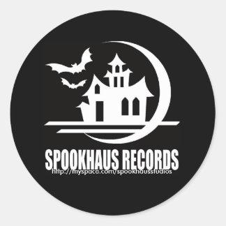 spookhausstudios, http://myspace.com/spookhauss... sticker
