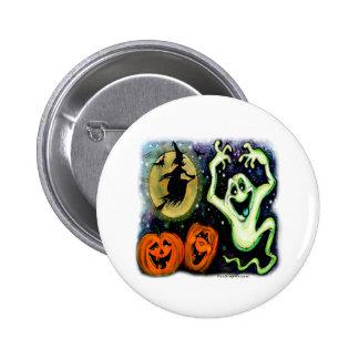 Spooky 6 Cm Round Badge