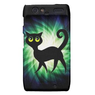 Spooky Black Cat Droid RAZR Case