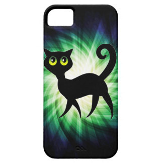 Spooky Black Cat iPhone 5 Covers