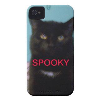 Spooky Black Cat iPhone 4 Cover