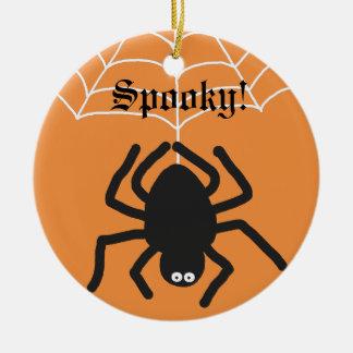 Spooky | Black Spider Halloween Ornament