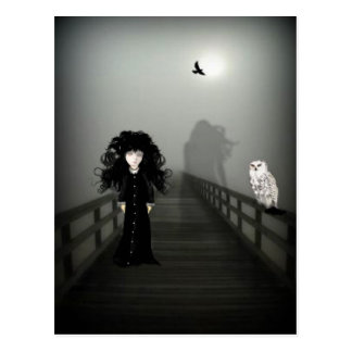 Spooky Bridge Postcard
