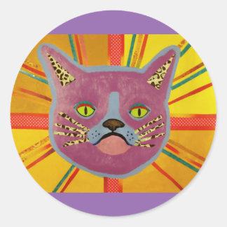 Spooky Cat Sticker